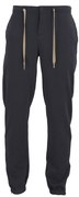 YMC Men's Trackie Bottom Cotton Twill Trousers - Navy