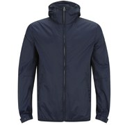 French Connection Men's Aura Run Hooded Jacket - Marine Blue