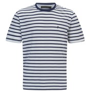 French Connection Men's Langlois Mixed T-Shirt - Blueblood
