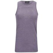 John Smedley Women's 100% Pure Silk Round Neck Vest - Purple Steel