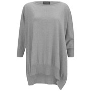 John Smedley Women's Halie Sea Island Cotton Cape - Silver