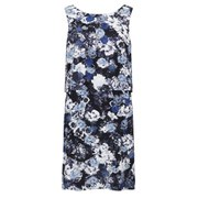 Twist & Tango Women's Maja Mini Dress - Blue Flower