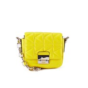 Karl Lagerfeld K/Kuilted Cross Body Bag - Yellow