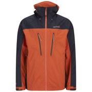 Regatta Men's Point 214 All Peaks Isotex 15000 Waterproof Jacket - Magma/Navy