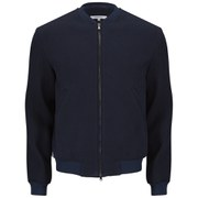 Carven Men's Bomber Jacket - Marine