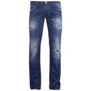 Vivienne Westwood Anglomania Men's Classic Jeans - Blue Denim