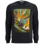 Scotch & Soda Men's Artwork Crew Neck Sweatshirt - Antra