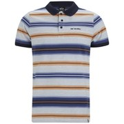 Animal Men's Reela Stripe Polo Shirt - Indigo