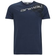 Animal Men's Linsdo Deluxe T-Shirt - Indigo