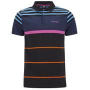 Animal Men's Rese Stripe Polo Shirt - Black