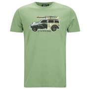Animal Men's Loderoes Graphic T-Shirt - Sage Green