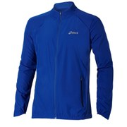 Asics Men's Woven Running Jacket - Air Force Blue