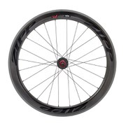 Zipp 404 Firecrest Carbon Clincher Rear Wheel 24 Spokes 10/11 Speed - Black Decal 2015