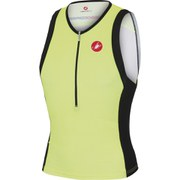 Castelli Free Tri Top - Yellow/Black