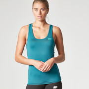 <p>Myprotein Damen Racer Back Scoop Top mit Support - Türkis</p>