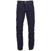 Jack & Jones Men's NOOS Mike Original Tapered Fit Jeans - Mid Wash