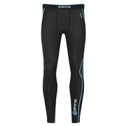 Skins A200 Active Compression Long Tights - Black/Blue