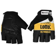 Santini Lotto Jumbo Summer Race Mitts - Black