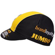 Santini Lotto Jumbo Cotton Race Cap - Black