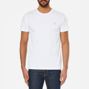 GANT Men's Solid Crew Neck T-Shirt - White