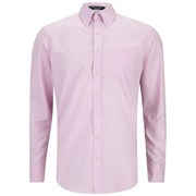GANT Men's Colour Oxford Long Sleeve Shirt - Pink