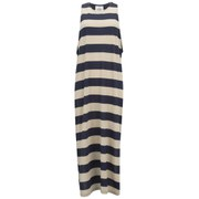 Cheap Monday Women's Ring Stripe Dress - Indigo/Nude