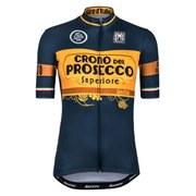 Santini Giro d'Italia 2015 Stage 14: Treviso - Valdobbiadene Short Sleeve Jersey - Blue
