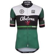 Santini Giro d'Italia 2015 Stage 5: La Spezia - Abetone Short Sleeve Jersey - Green