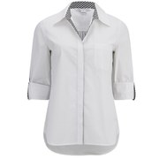 Diane von Furstenberg Women's Lorelei Shirt - White
