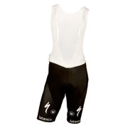Etixx Quick-Step Replica Bib Shorts - Black/Blue