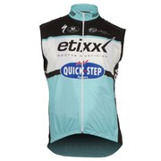 Etixx Quick-Step Replica Kaos Gilet - Black/Blue