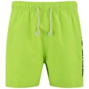 Rip Curl Men's Aggrobrash 16 Inch Volley Swim Boardshorts - Lime