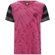 Rip Curl Men's Aerocraft Premium Pro Fit T-Shirt - Pink/Black