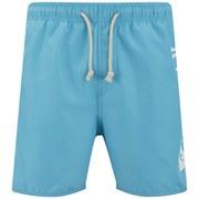 Rip Curl Men's Aggrobrash 16 Inch Volley Swim Boardshorts - Blue