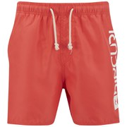 Rip Curl Men's Aggrobrash 16 Inch Volley Swim Boardshorts - Hot Coral