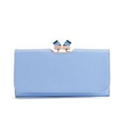 Ted Baker Women's Missti Split Glae Square Crystal Popper Back Matinee Purse - Light Blue