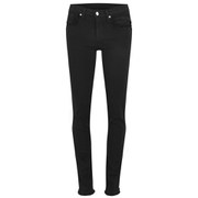 Helmut Lang Women's Raw Edge Jeans - Black Wash