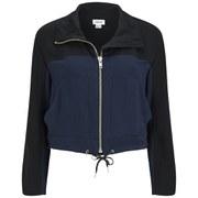 Helmut Lang Women's Solar Drape Jacket - Black/Navy