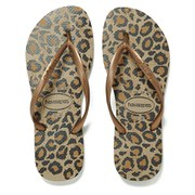 Havaianas Women's Slim Animals Flip Flops - Beige