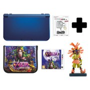 New Nintendo 3DS XL Metallic Blue + Majoras Mask 3D Standard Edition