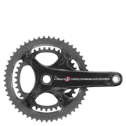 Campagnolo Super Record 11 Speed Carbon Compact Chainset - Black