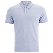 American Vintage Men's Pocket Detail Polo Shirt - Sky