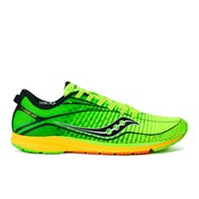 Saucony Men's Type A6 ISO Running Shoes - Green/Yellow/Black