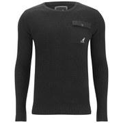 Kangol Men's Tenby Knitted Jumper - Black