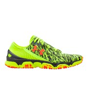 Under Armour Men's Speedform XC Running Shoes - High-Vis Yellow/Lead/Bolt Orange