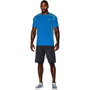 Under Armour Men's Raid Short Sleeve Training T-Shirt - Blue Jet/High Vis Yellow