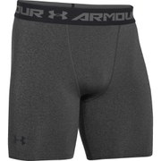 Under Armour Men's Armour Heat Gear Compression Training Shorts - Carbon Heather/Black