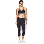 Under Armour Women's Heatgear Alpha Training Bra - Black/White