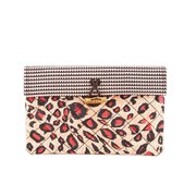 Maison Scotch Women's Printed Clutch - Pink