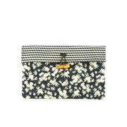 Maison Scotch Women's Printed Clutch - Black/White
